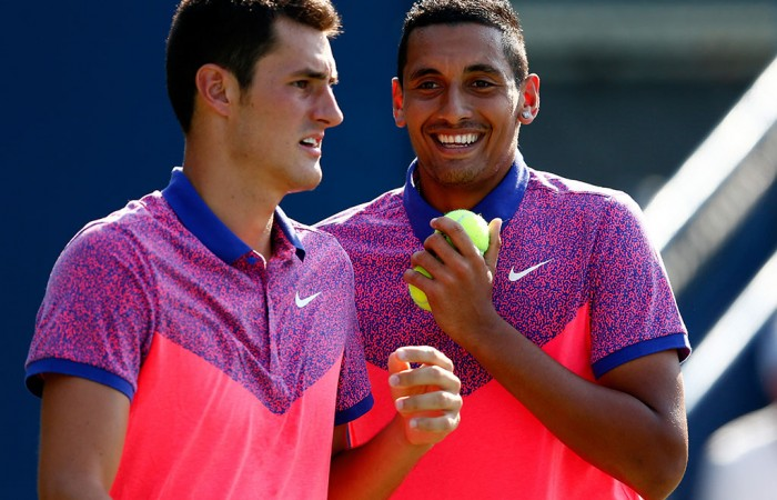 Australian tennis stars Bernard Tomic and Nick Kyrgios excluded from Newcombe list