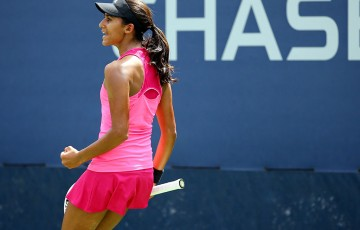Naiktha Bains, US Open 2014, New York. GETTY IMAGES