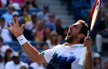 Marin Cilic, US Open 2014. GETTY IMAGES