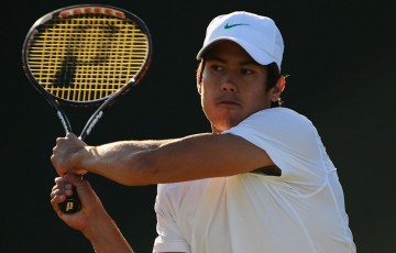 Jason Kubler in action at Wimbledon; Getty Images
