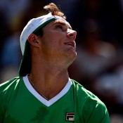 Matt Ebden reached the second round in New York, ultimately falling to 23rd seed Leonardo Mayer; Getty Images