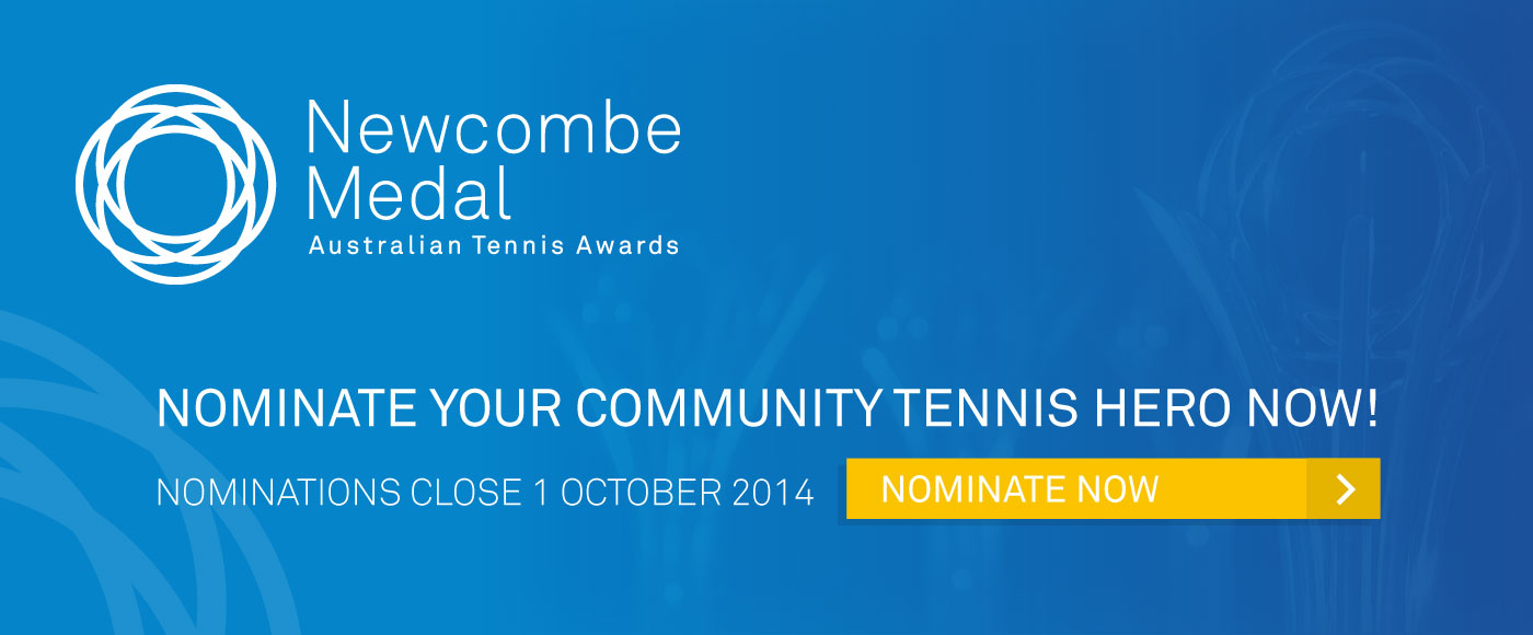 Newcombe Medal, Australian Tennis Awards 2014