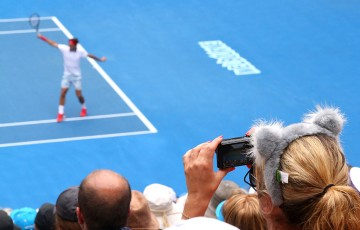 Roger Federer, Australian Open 2014. GETTY IMAGES