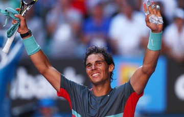 Rafael Nadal, Australian Open 2014. GETTY IMAGES