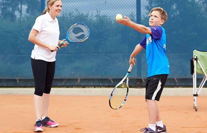 Tennis in Schools Program, schools, coach, students