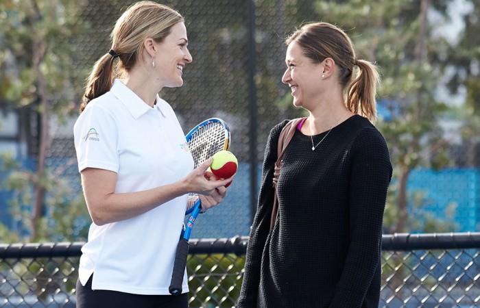 coach, parent, coaching, tennis