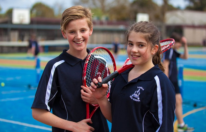 tennis, secondary school