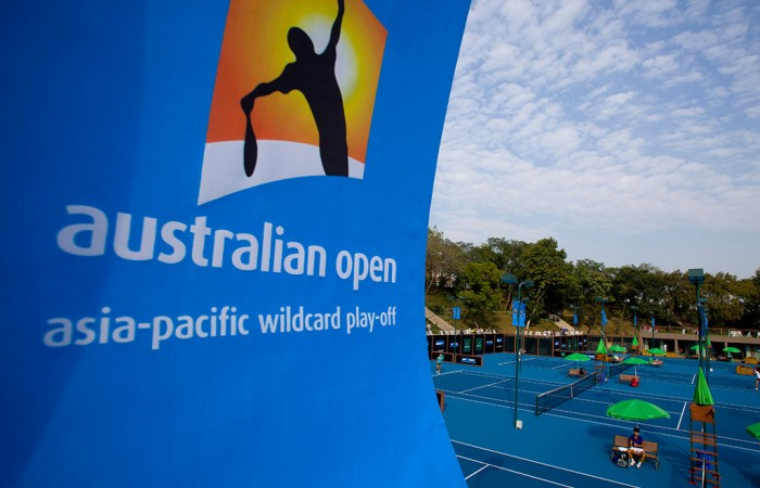 Australian Open Asia-Pacific Wildcard Play-off; Getty Images