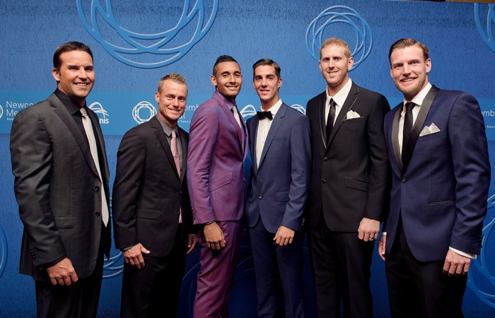 Newcombe Medal blue carpet  highlights