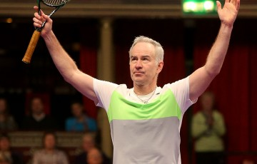 John McEnroe; Getty Images