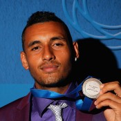 2014 Newcombe Medal winner Nick Kyrgios; Getty Images