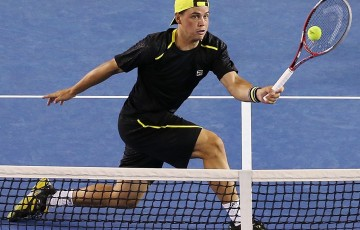 Alex Bolt rose from outside the top 500 to crack the top 200 in the space of 11 months, winning a Challenger and Futures title in 2014; Getty Images