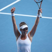 Two Grand Slam fourth round runs and consistency on tour in 2014 saw Casey Dellacqua rise from No.142 in January to a career-best mark of 26th in September and be nominated for the WTA Most Improved Player of the Year award. Just 14 months ago, she was outside the world's top 200; Getty Images