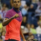 Nick Kyrgios was ranked 226th in early March but now verges on the top 50 - and the Australian No.1 ranking - after a breakout season highlighted by his scintillating quarterfinal run at Wimbledon; Getty Images