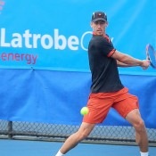 John Millman embarked on a jaw-dropping rise in late 2014; in just three months rose from No.1101 to 159th after winning four titles - two Futures and two Challengers. A stunning comeback after missing nearly a year of tennis following shoulder surgery; Tennis Australia