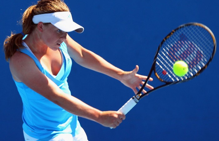 An under-the-radar success story, Alexandra Nancarrow finished 2013 ranked 919th but stormed into the world's top 400 - peaking at No.385 - after winning 55 matches in 2014 on the ITF circuit and winning her first professional title in Prokuplje, Serbia. She reached another three ITF finals throughout the year; Getty Images