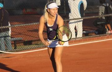 Daria Gavrilova in ATL action; Tennis Australia