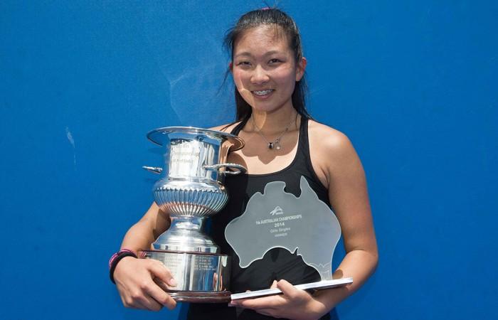Jeanette Lin is crowned 14/u Australian Champion; Elizabeth Xue-Bai