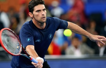 Mark Philippoussis in action during the IPTL; Getty Images