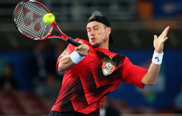 Lleyton Hewitt in IPTL action; Getty Images