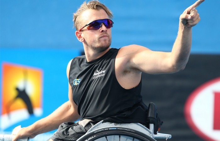 Australian Open champion, Dylan Alcott is an inspiration to many.