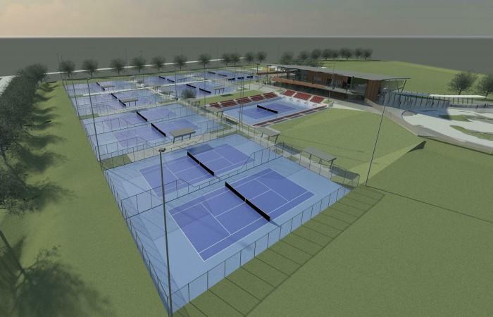 NT Regional Tennis Centre concept design