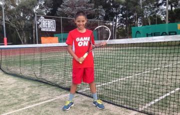 January's ANZ Tennis Hot Shot