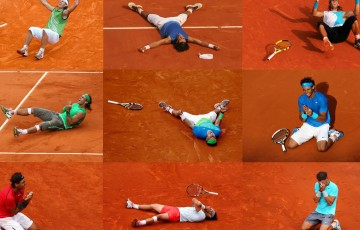Rafael Nadal: Nine time French Open champion