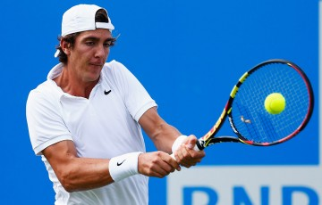 Thanasi Kokkinakis in action at Queen's Club; Getty Images