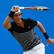 Thanasi Kokkinakis has battled illness ahead of his Wimbledon campaign; Getty Images
