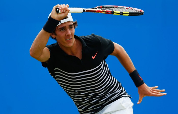 Thanasi Kokkinakis has battled illness ahead of his Wimbledon campaign; Getty Images