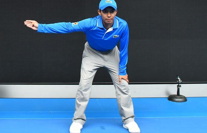 Tennis officials