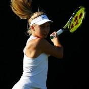 Daria Gavrilova fell to 29th seed Irina Camelia Begu in round one; Getty Images