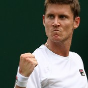 Wildcard Matthew Ebden made an impressive run to the second round before going down to No.17 seed John Isner; Getty Images