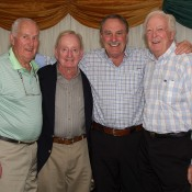 (L-R) Neale Fraser, Rod Laver, John Newcombe and Fred Stolle; John Anthony