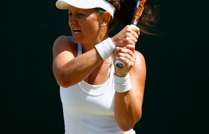 Casey Dellacqua exits in the third round of Wimbledon; Getty Images