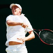 John Millman in action at Wimbledon 2015; Getty Images