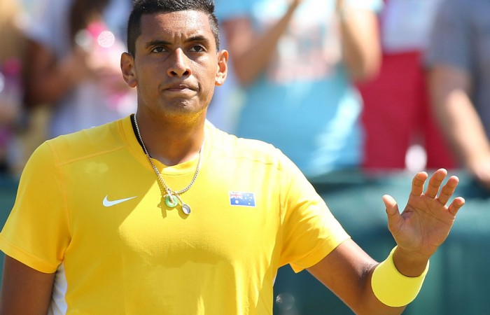 Nick Kyrgios is keen to return to Davis Cup; Getty Images