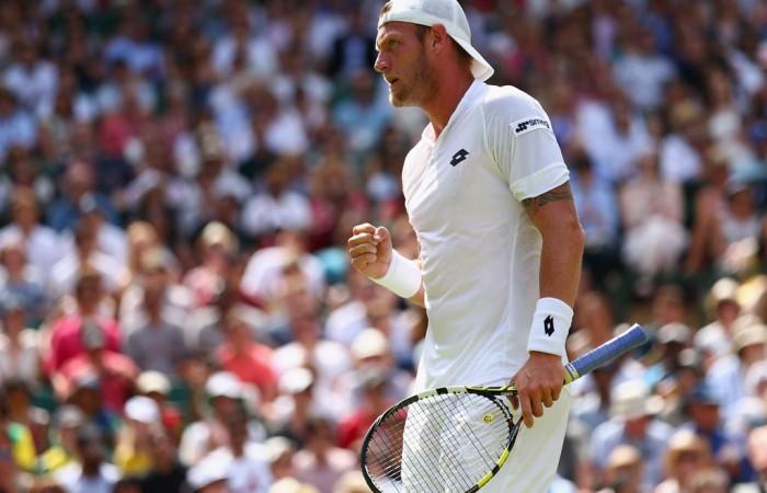 Sam Groth pushed Roger Federer to five-sets at Wimbledon; Getty Images
