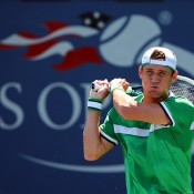 Matt Ebden in action at the US Open; Getty Images
