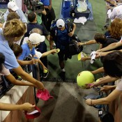 Lleyton Hewitt exits Grandstand in his last US Open singles appearance; Getty Images