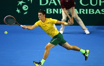 Murray beats Tomic to hand GB unassailable Davis Cup lead. Photo: Getty Images
