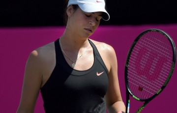 Ajla Tomljanovic has been beaten in the Japan Open SFs. Photo: Getty Images