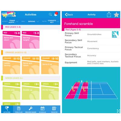 Hot Shots App screens