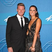 Sam Groth (L) and partner Brittany Boys; Getty Images