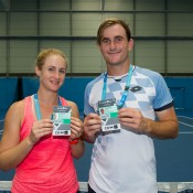 Jess Moore and Bradley Mousley win wildcard into AO 2016