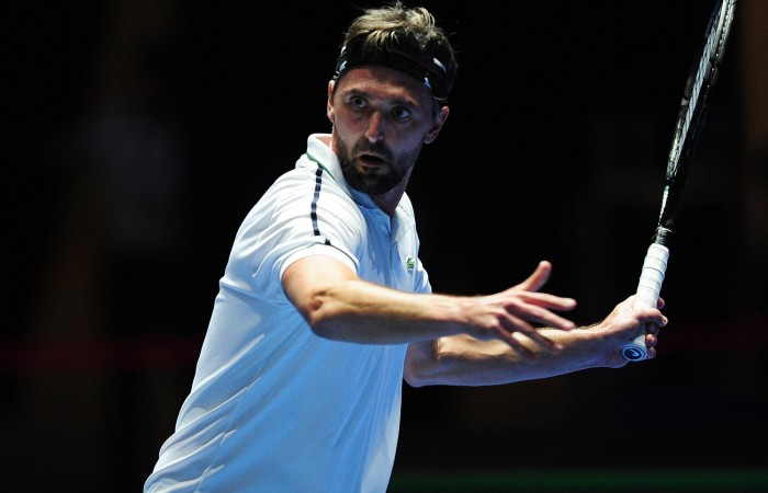 Goran Ivanisevic in IPTL action in Singapore, December 2015; Getty Images