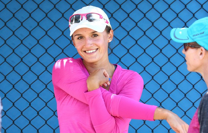 Arina Rodionova at the Australian Open 2016 Play-off; Getty Images