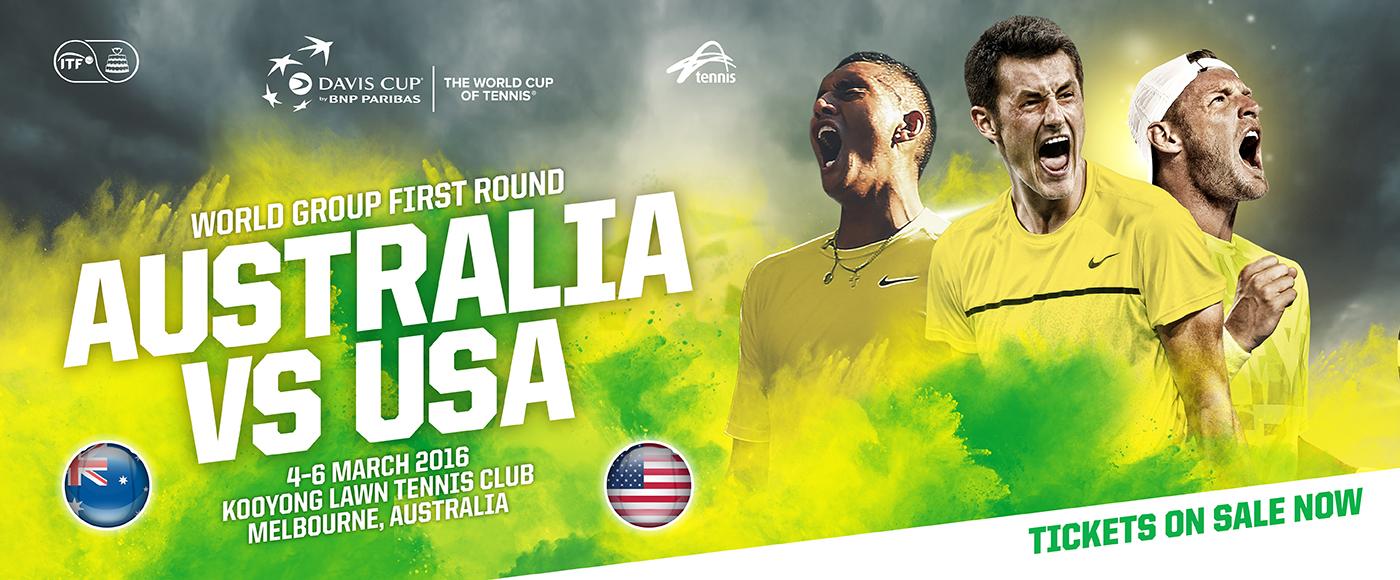 Australia v USA Davis Cup