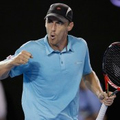 John Millman defeats Julien Benneteau at Open Sud de France; Getty Images
